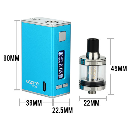 Aspire X30 Kit with Nautilus X 2000mah