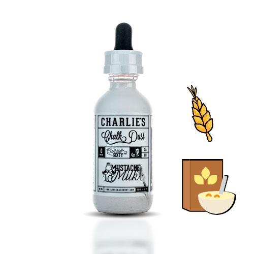 Charlies Chalk Dust Mustache Milk