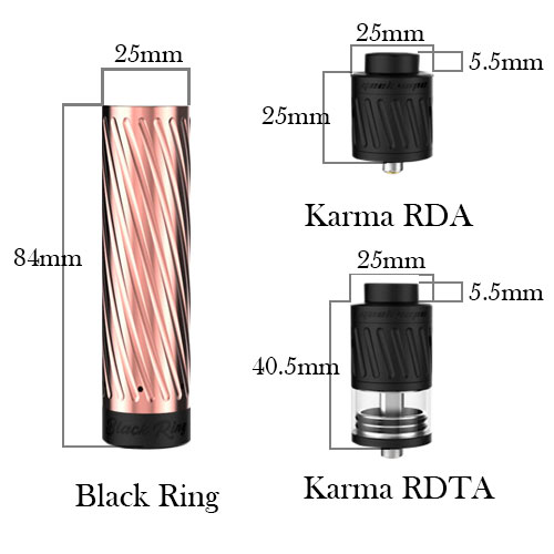 GeekVape Karma Kit (Copper Black)