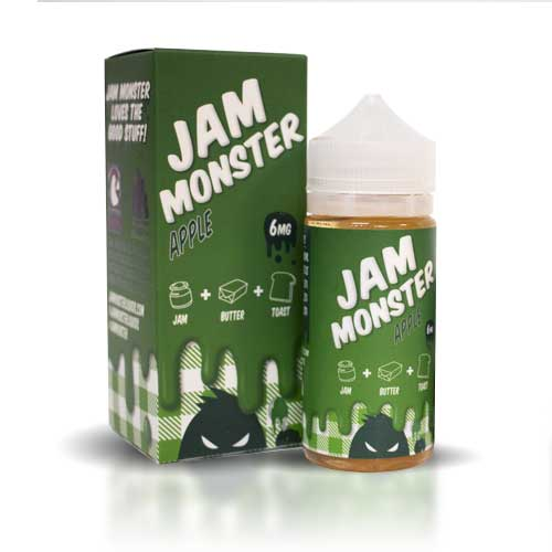 Jam Moster Apple 100ml
