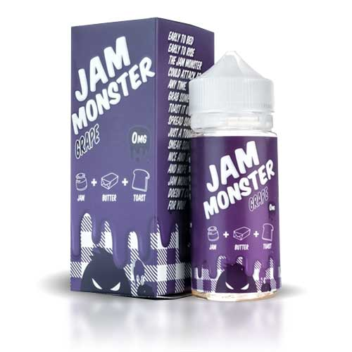 Jam Moster Grape 100ml (BOOSTER)