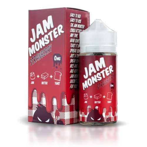 Jam Moster Strawberry 100ml (BOOSTER)