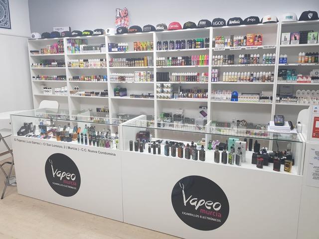 vapeo, Nuestras tiendas, VapeoMurcia