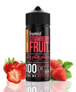 50891 2722 frumist fruit series strawberry fruit 100ml