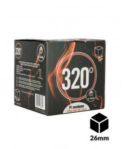 carbon 320 cubos 26mm 1kg