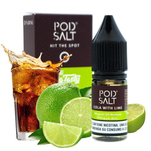 cola with lime pod salt fusion