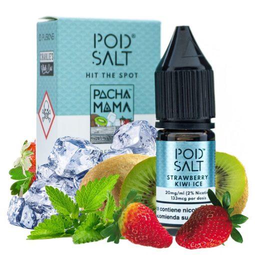 pacha mama strawberry kiwi ice pod salt fusion